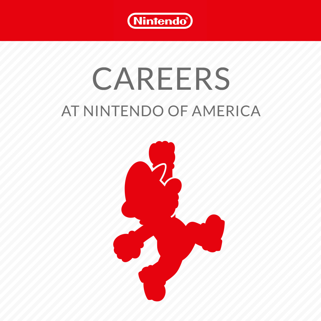 Careers At Nintendo Of America Official Site Employment